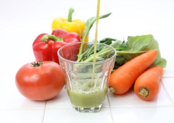 緑の飲み物